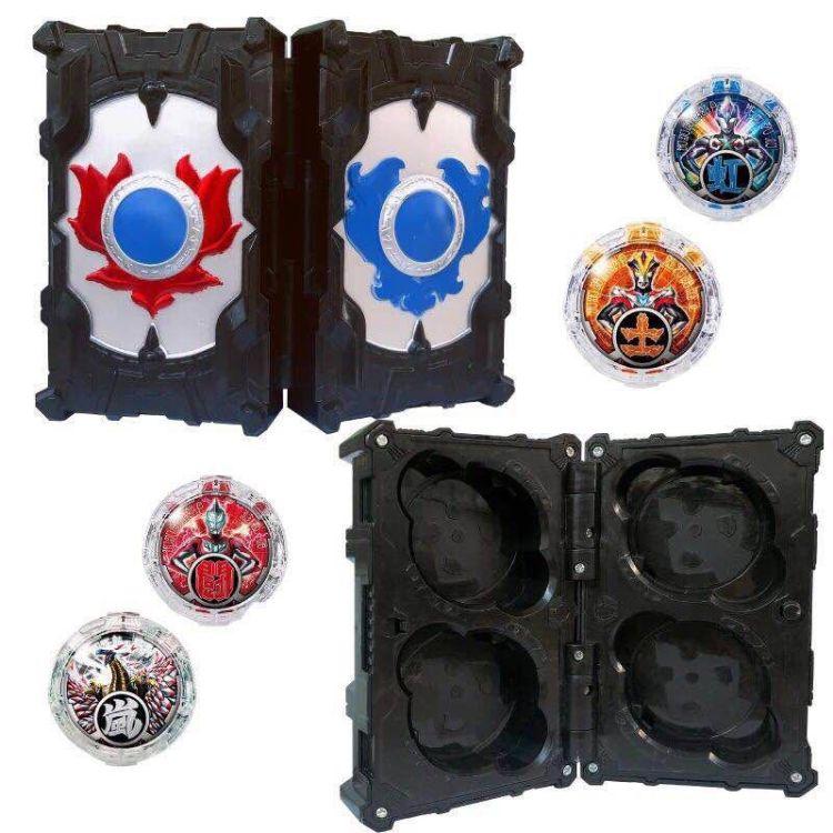 罗布水晶奥特曼胶囊变身器收纳盒罗布奥特曼头镖光轮罗索布鲁玩具