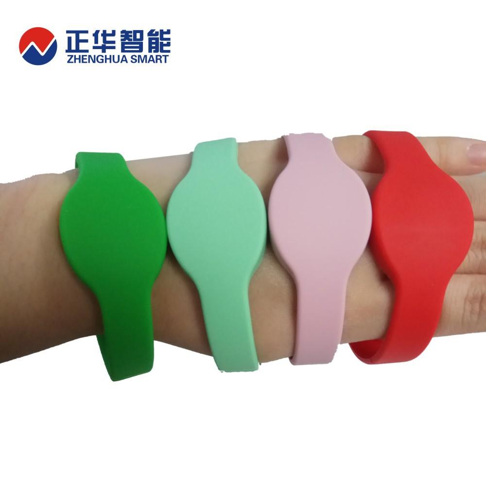 工厂定制ABS成型手腕带 RFID标签 超高频手腕标签  腕带门票