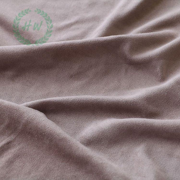 仿麂皮面料 女装绒布料 经向 纬向 经编 纬编加厚麂皮绒 现货订单
