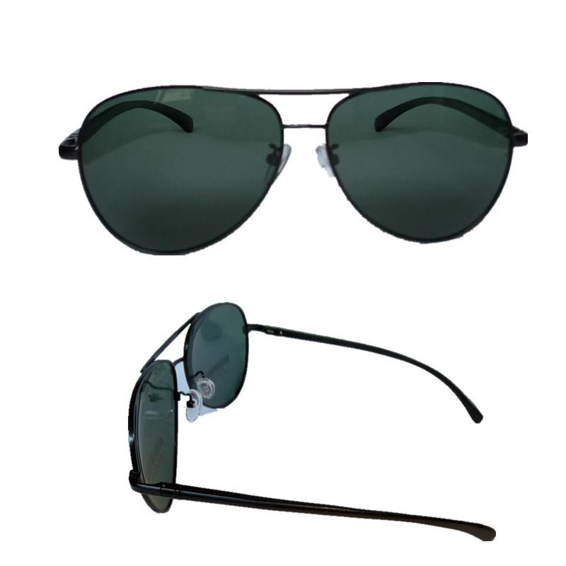 近视定制蛤蟆偏光太阳镜 铝镁墨镜太阳眼镜 男款女款