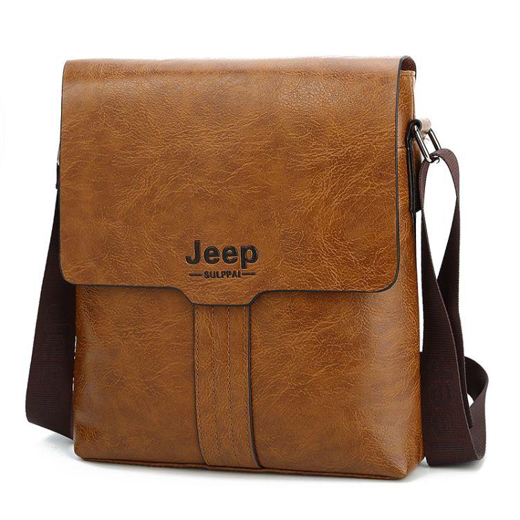 jeep爆款男包 男士单肩斜跨包 吉普男士定性包 时尚休闲包现货