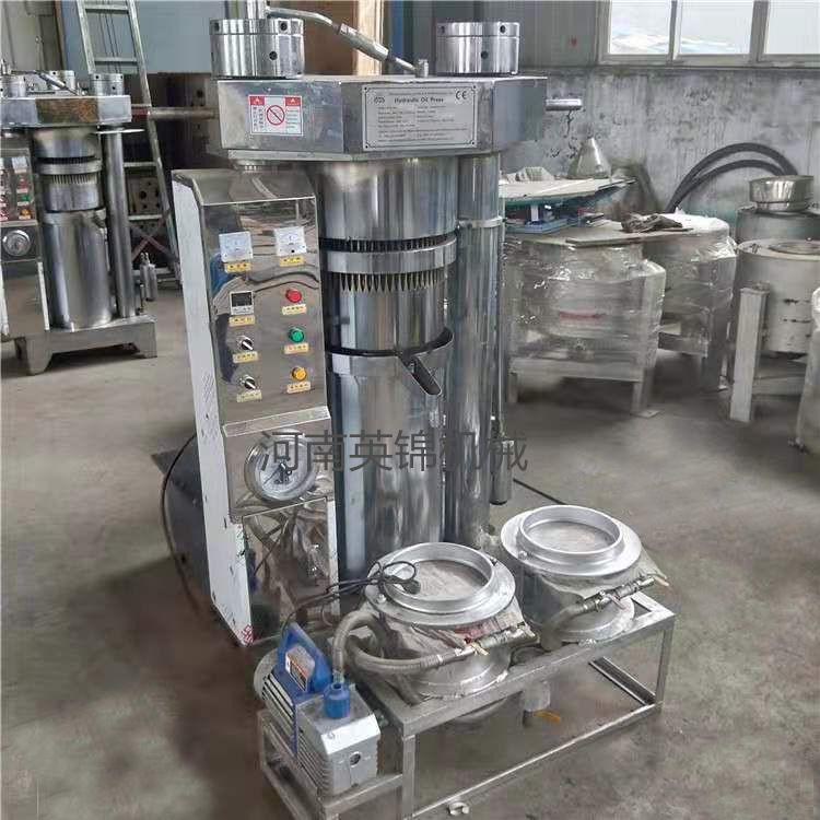 新型冷热两用多功能液压榨油机 橄榄油不锈钢榨油机 智能液压香油机