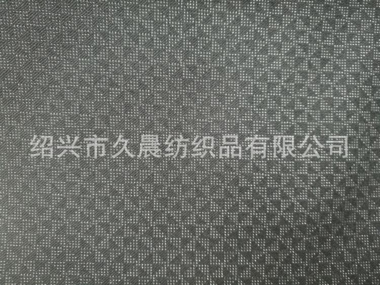 T/R涤粘仿毛格子斜纹平纹正装休闲套装西装混纺梭织风格面料
