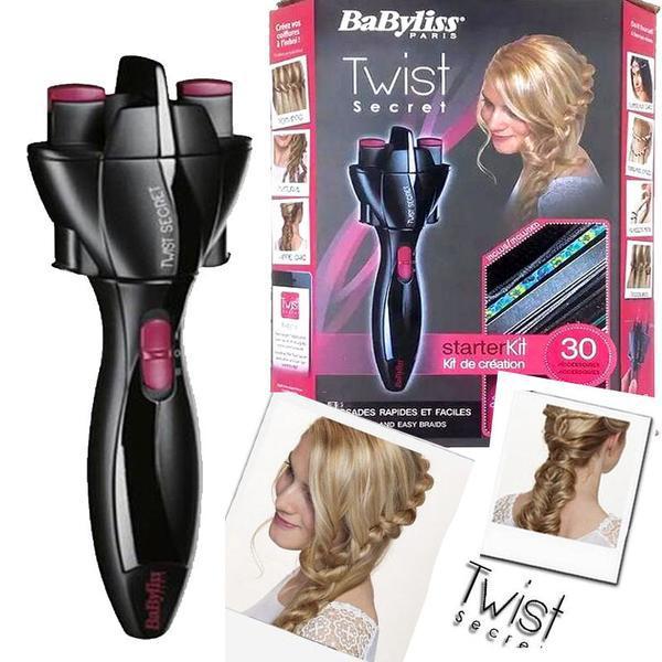 厂家批发美发造型工具 自动编发器 快速扎辫机 电动扎头发