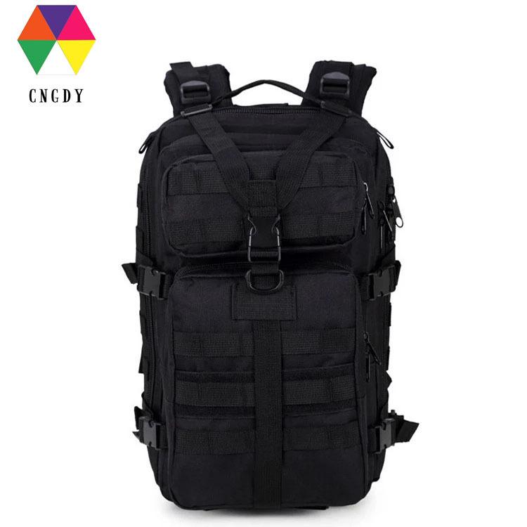 户外多功能登山作战大容量3P战术双肩背包