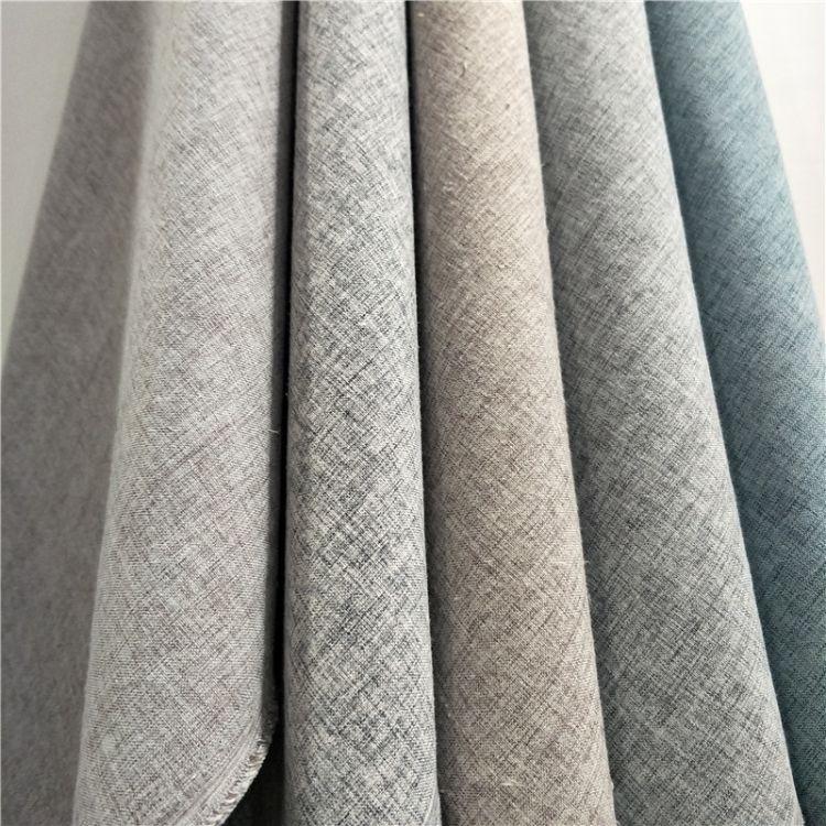 厂家供应家纺布用料 1米5门幅麻布 可做沙发巾沙发垫靠枕窗帘等