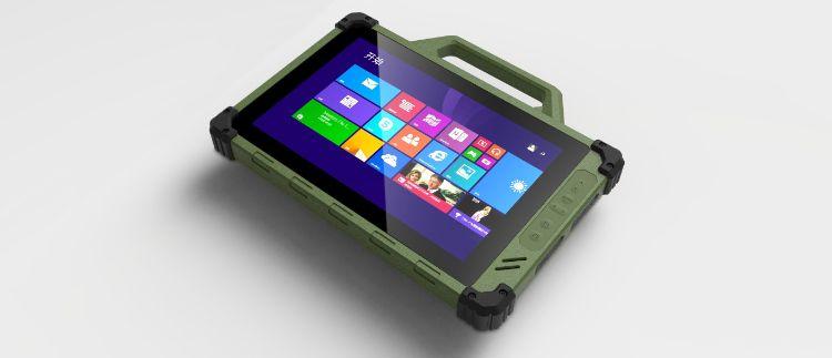 10.1寸 J10手提加固电脑、检测终端