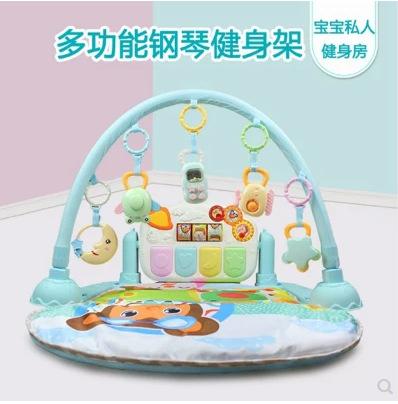 优乐恩9309优乐恩健身架婴幼儿童爬行音乐毯脚踏钢琴游戏垫