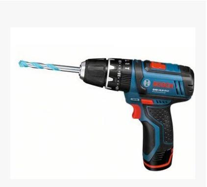 博世电钻电动工具锂电充电式冲击钻GSB10.8-2-Li电动螺丝刀起子机