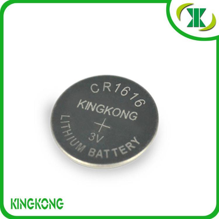 厂家直供 环保锂锰扣式电池 纽扣电池 CR1616 3V电池