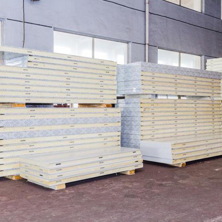 聚氨酯冷库保温板 聚氨酯冷库板厂家 常州冷库板雪冬安装配件