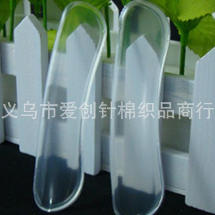 厂家直销 透明硅胶后跟贴 防磨 调整尺码 改善鞋子不跟脚 柔软