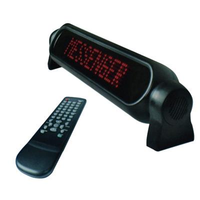 工厂直销LED显示屏360度自动旋转汽车条屏多国语言显示操作方便