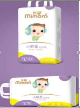 米萌小鲜柔大环腰婴儿纸尿裤