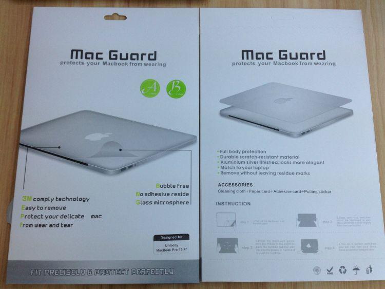 原色机身贴 macbook pro 13.3(retina)银色
