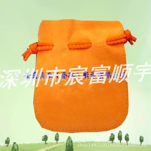 宸富顺宇 XPZ-206厂家直销绒布束口袋时尚卡通束口袋纯色抽绳束口袋环保染色手提袋