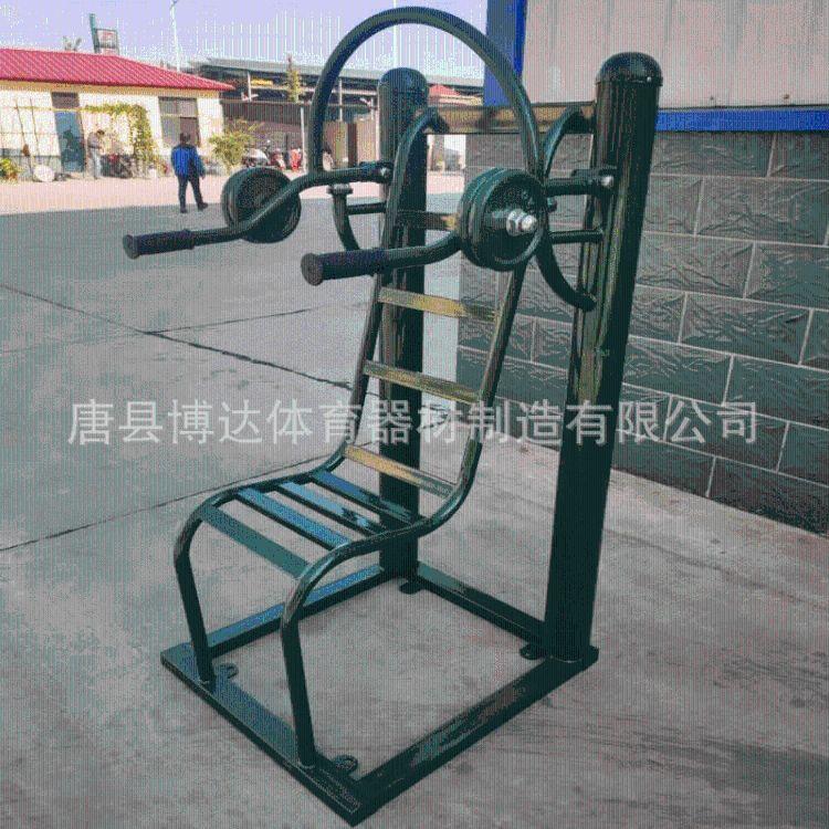 太行-推举下压架部队训练器材杠铃坐推举重下压组合拓展综合健身器材