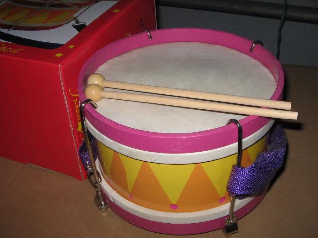 供应打击乐器儿童益智玩具鼓 手拍鼓可调小战鼓 小军鼓行军鼓