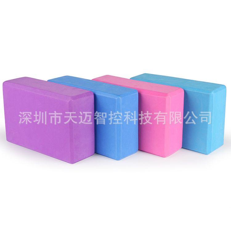200g瑜伽砖 高密度环保瑜珈砖 艾杨格辅助工具用品 泡沫健身砖