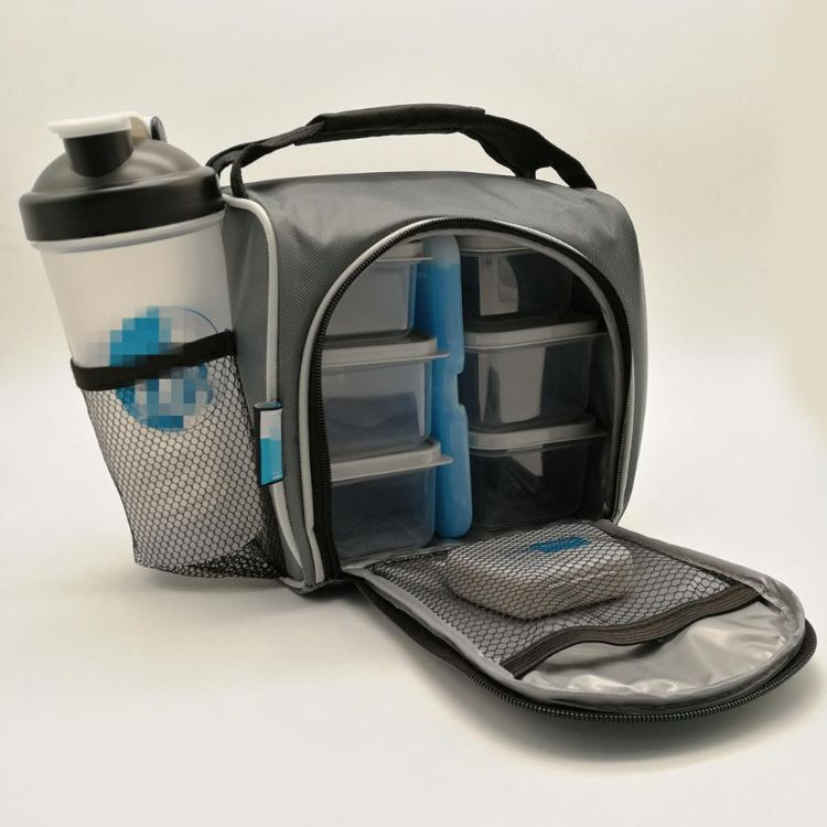 厂家现货简约便携多功能野餐包户外餐具套装8件套冰包含冰盒