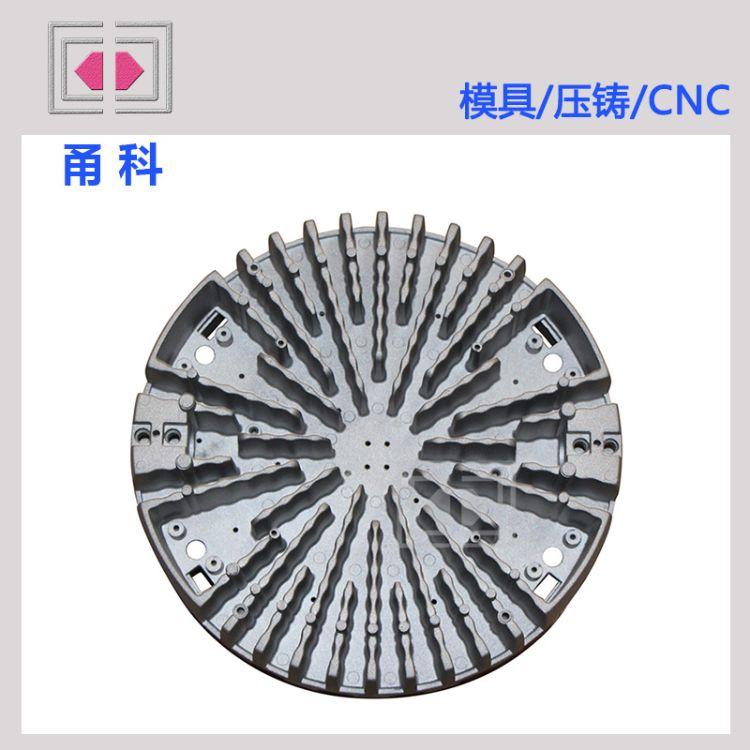 OEM 来图来样生产各种类型铝合金LED散热器 佛山散热器压铸