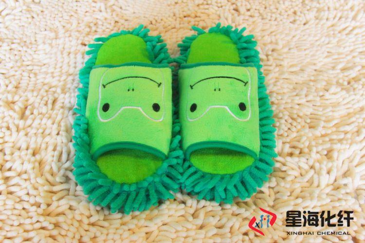 雪尼尔拖鞋 擦地拖鞋 超纤露脚趾拖鞋 现货出售