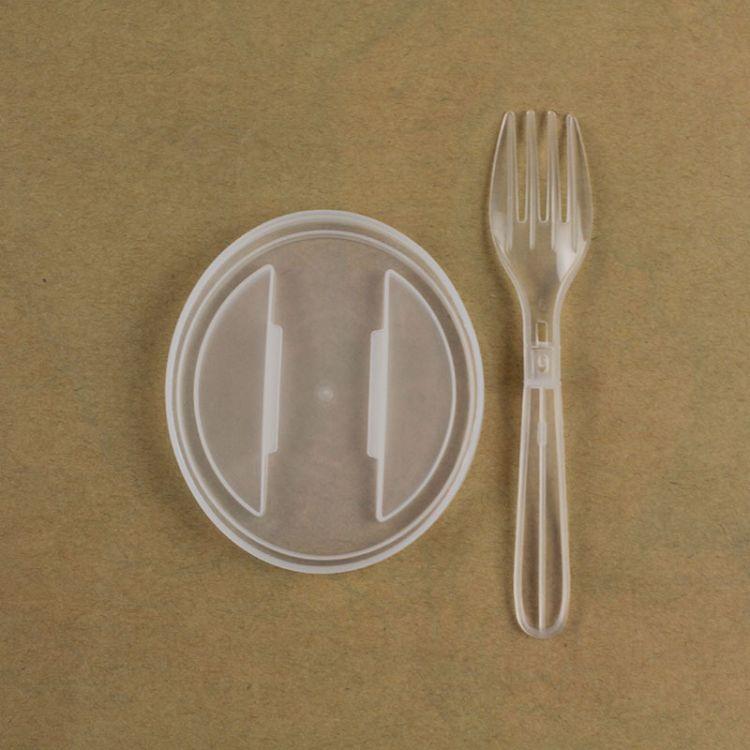 罐头塑料软盖 折叠塑料叉 罐头盖叉 不伤手盖叉 厂家直销