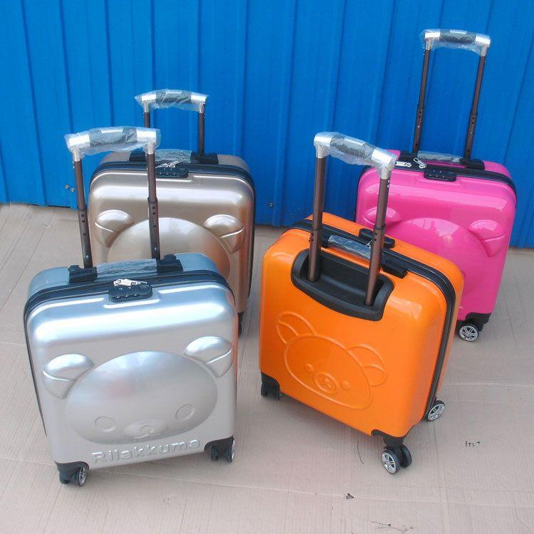 卡通儿童拉杆箱18寸可爱旅行箱20寸小熊行李箱万向轮女厂家批发