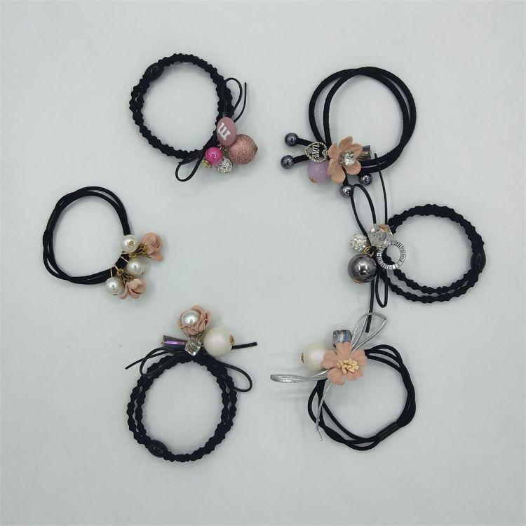 韩版发圈头绳高弹力皮筋不伤发饰品小清新发绳套装