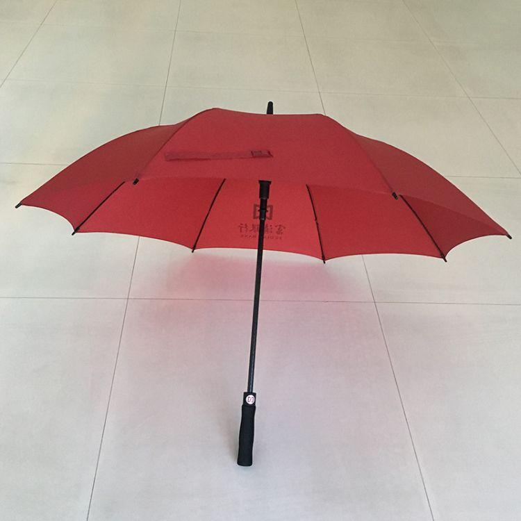 昆明专业定制广告雨伞-27寸全纤维高尔夫伞-可印LOGO
