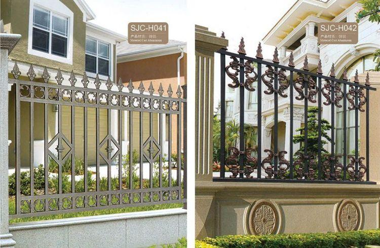 厂家直销各种铝合金栏杆 阳台护栏 工艺护栏  花园围栏