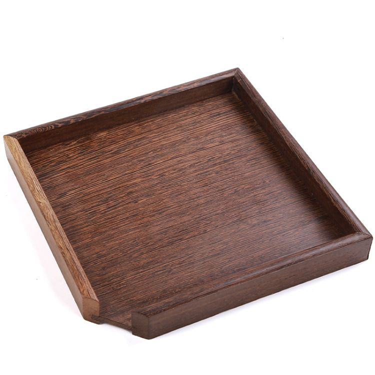 普洱茶盒茶叶罐茶饼通用包装收纳盒 抽屉式竹制实木茶盘 茶具配件