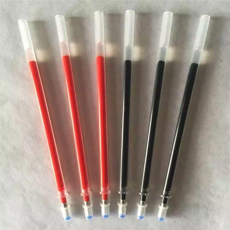厂家直销环保笔芯中性笔芯替芯0.38书写流畅摩擦笔芯文具套装