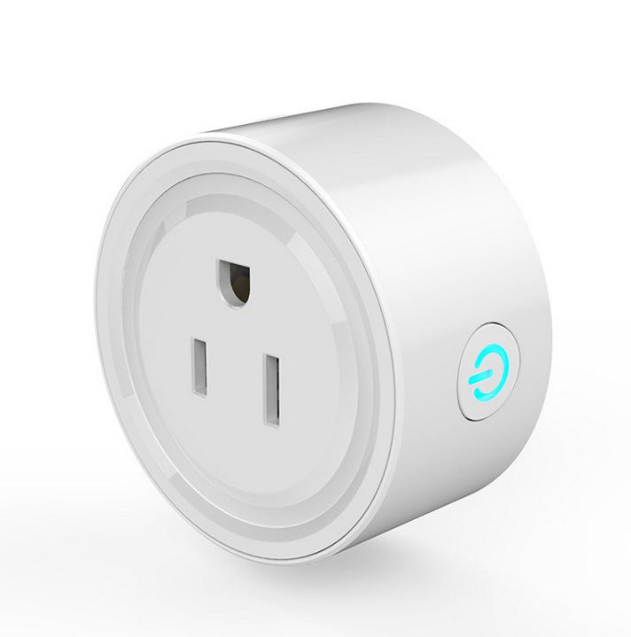 WiFi智能插座智能插座wifi手机开关定时插头语音控制插座欧美通用