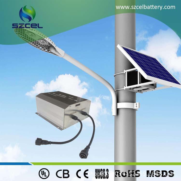 太阳能电池 12V 25A 太阳能一体机锂电池 节能环保磷酸铁锂锂电池