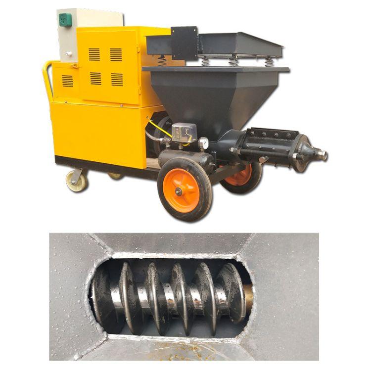 全自动水泥砂浆喷涂机 砂浆喷浆机墙面真石漆保温材料腻子喷涂机
