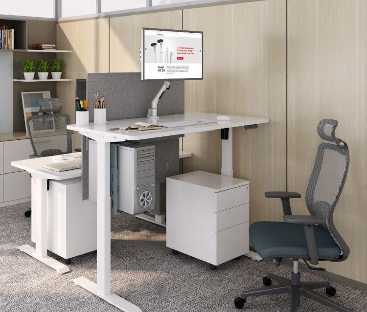 富源凯丰健康智能升降桌 站立式学习桌电动办公桌 电脑桌