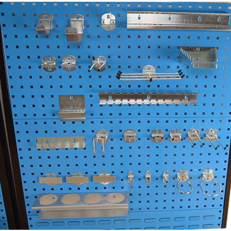 五金工具挂板挂钩方孔板上墙孔板工具架挂板洞洞板货架物料架挂钩