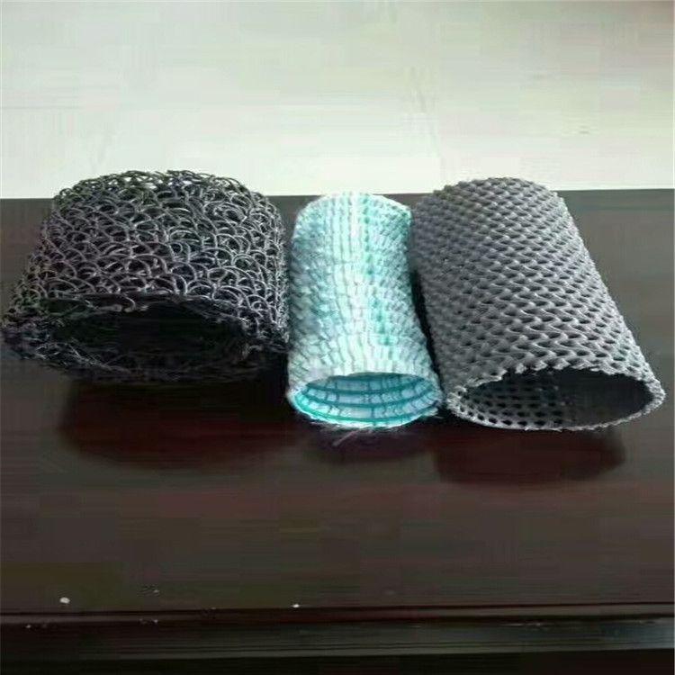 重庆厂家现货供应 优质塑料盲沟 塑料盲沟 透水盲管 排水塑料盲沟