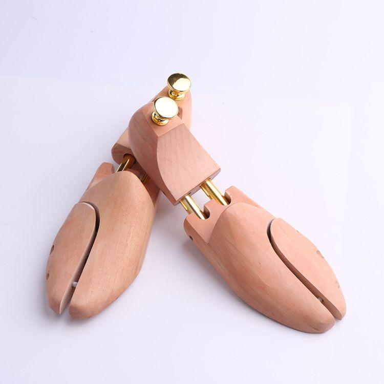 新款荷木鞋楦 实木家居运动懒人鞋防皱木鞋撑 可调节鞋楦定制批发