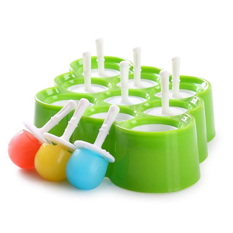 硅胶冰淇淋模具 食品级雪糕模具 创意自制无毒冰棒冰棍模具制冰模