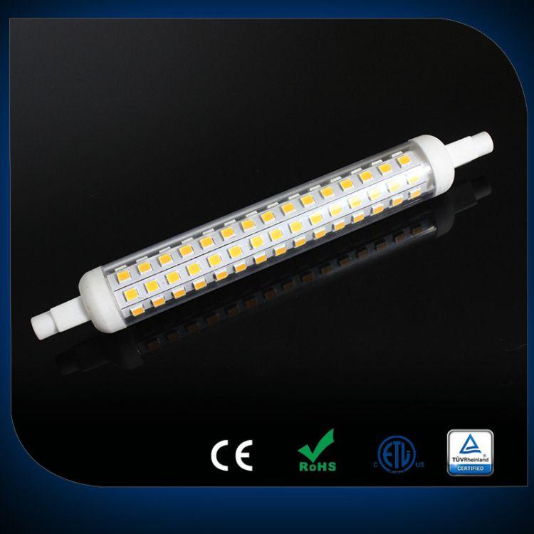 R7S LED 2835 R7S陶瓷+PC罩 横插 6W 节能超亮玉米灯