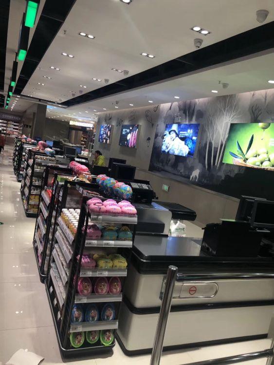 宏优厂家直销超市货架收银台前端货架零食口香糖货架加工定制批发