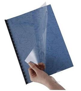批发0.2mm A4透明塑料封面装订胶片耗材20c丝优质DIY办公保护胶片