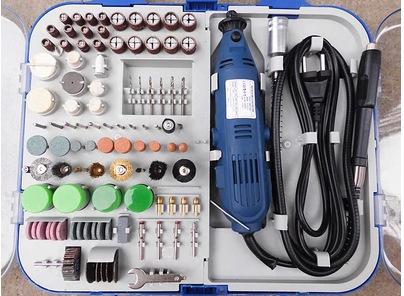多功能161件套电磨套装打磨机雕刻机抛光机微型玉石台磨包邮