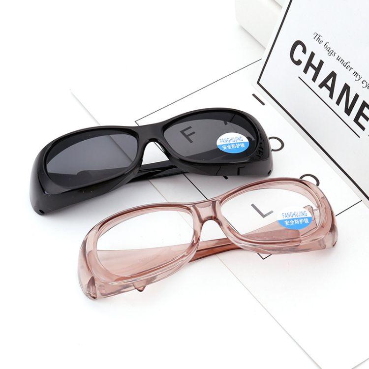 厂家直销新款防冲击防刮花防护眼镜牢固耐用防紫外线护目镜劳保