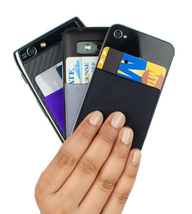 亚马逊热销通用手机卡袋公交卡套phone pocket 源头工厂现货供应