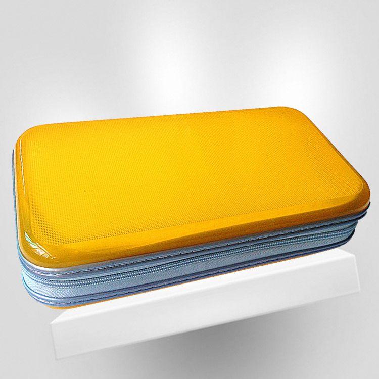 厂家直销正品纯色光盘包cd包80片装塑料CD盒 碟包光碟盒大量批发