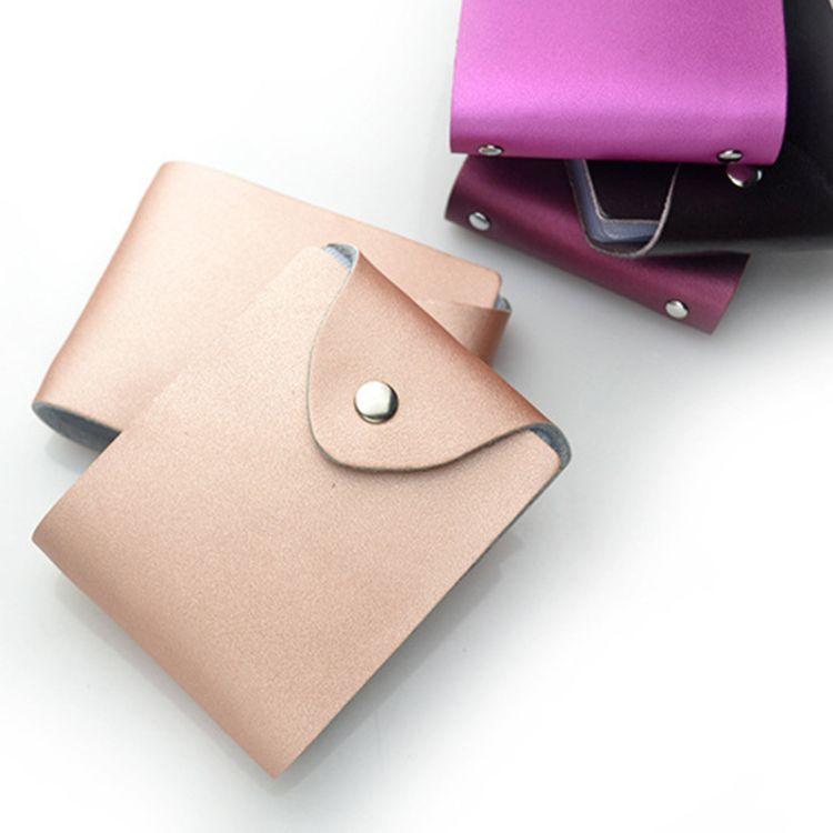 厂家批发真皮驾驶证件包  银行卡套名片夹 四色可选 定制logo
