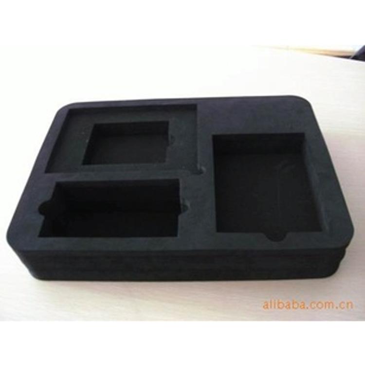 供应黑色EVA内衬包装盒 CNC雕刻EVA内衬 防震内衬
